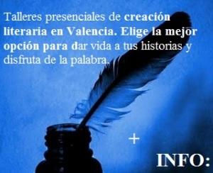Taller de escritura en Valencia-azul y negro