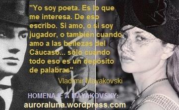 Aurora Luna. Homenaje a Mayakovsky - copia