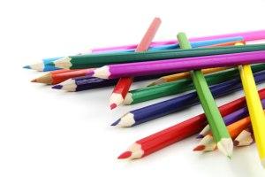 Lápices de colores taller