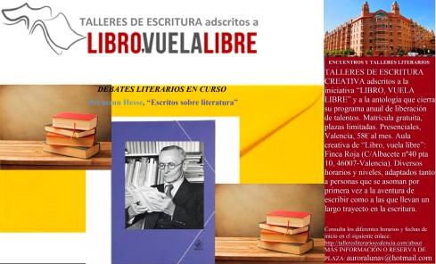 Curso de escritura creativa en Valencia