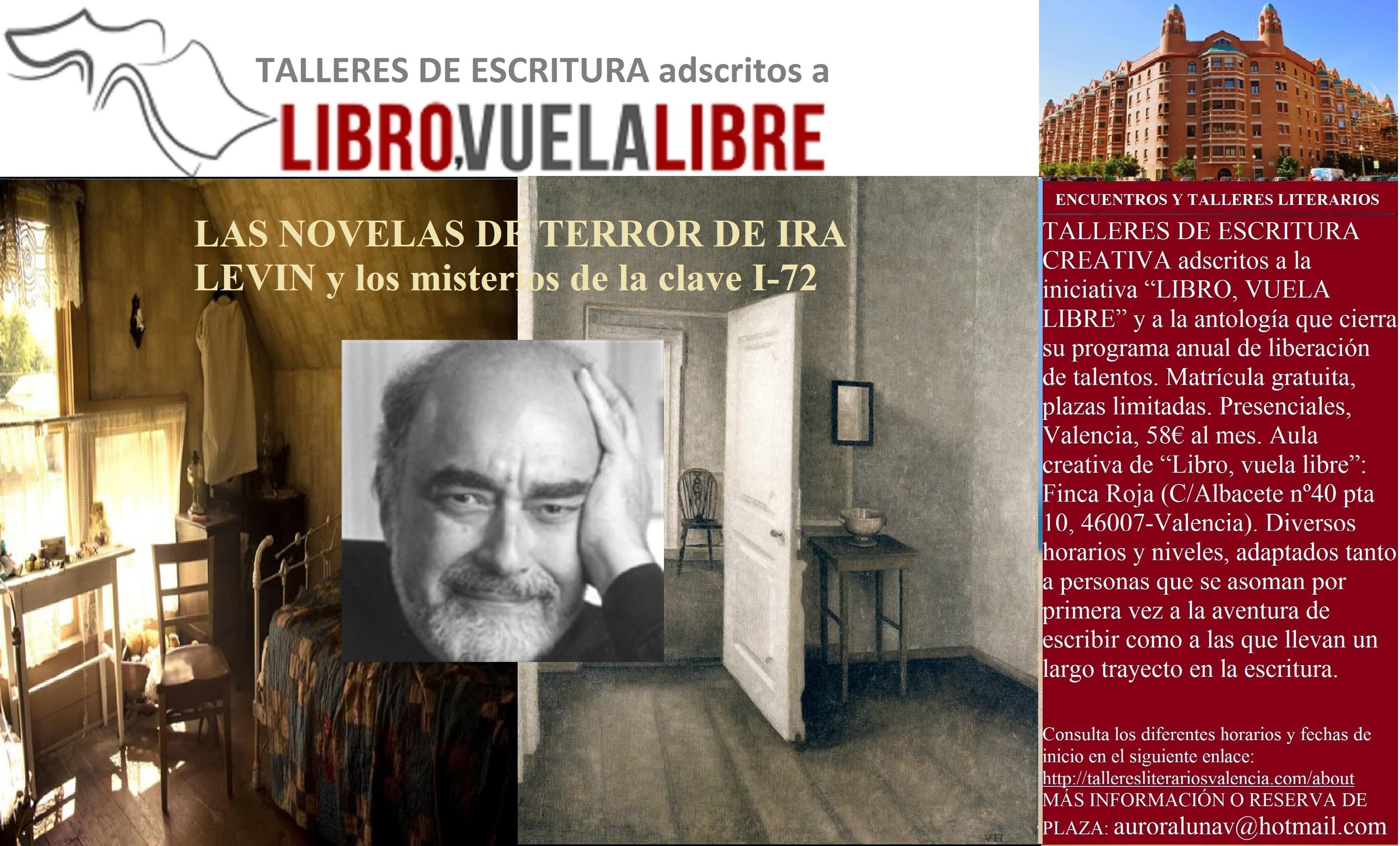 LAS NOVELAS DE TERROR DE IRA LEVIN. Talleres de escritura creativa en Valencia, clave I-72