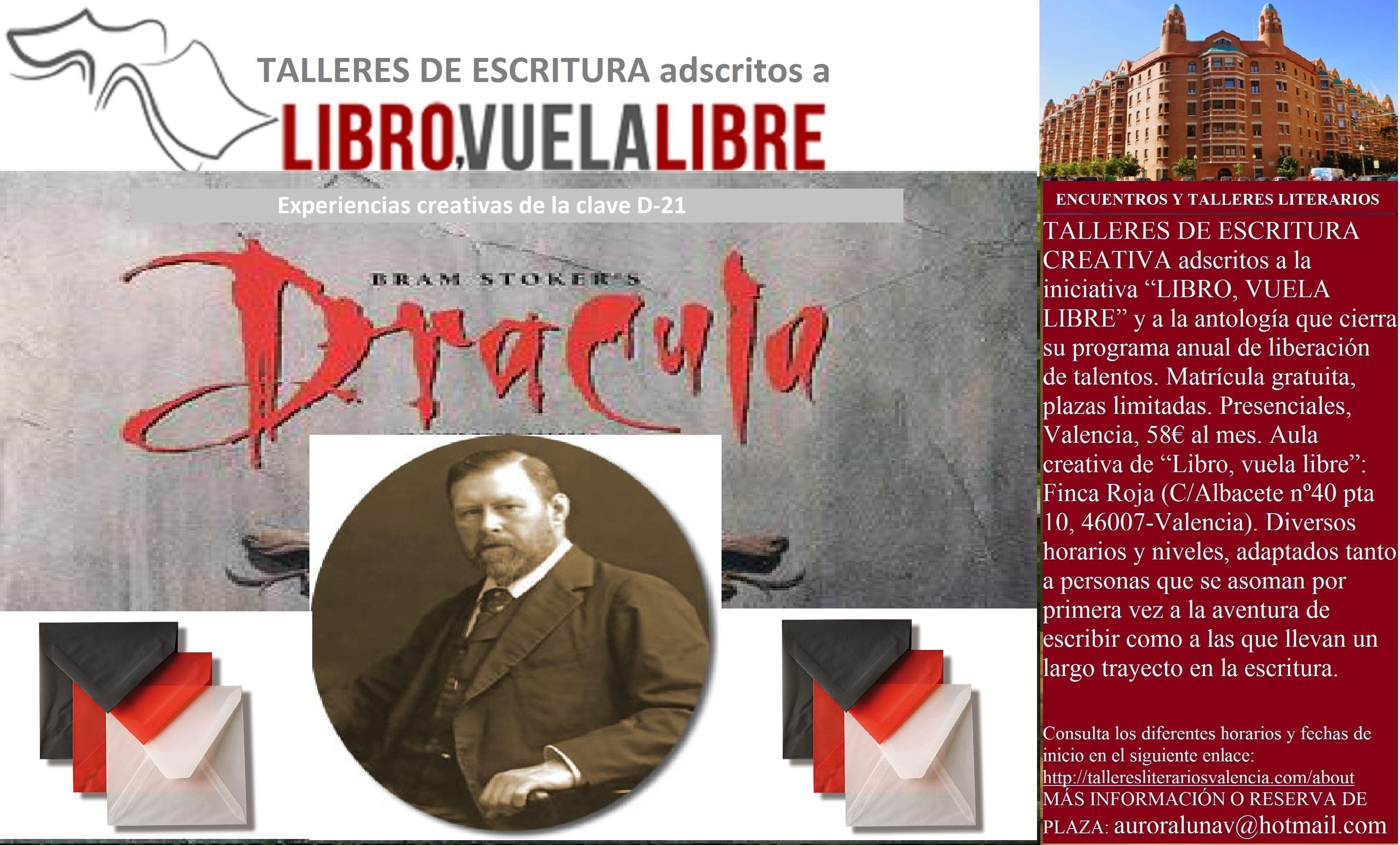 Taller de escritura en curso: TRIBUTOS LITERARIOS A BRAM STOCKER