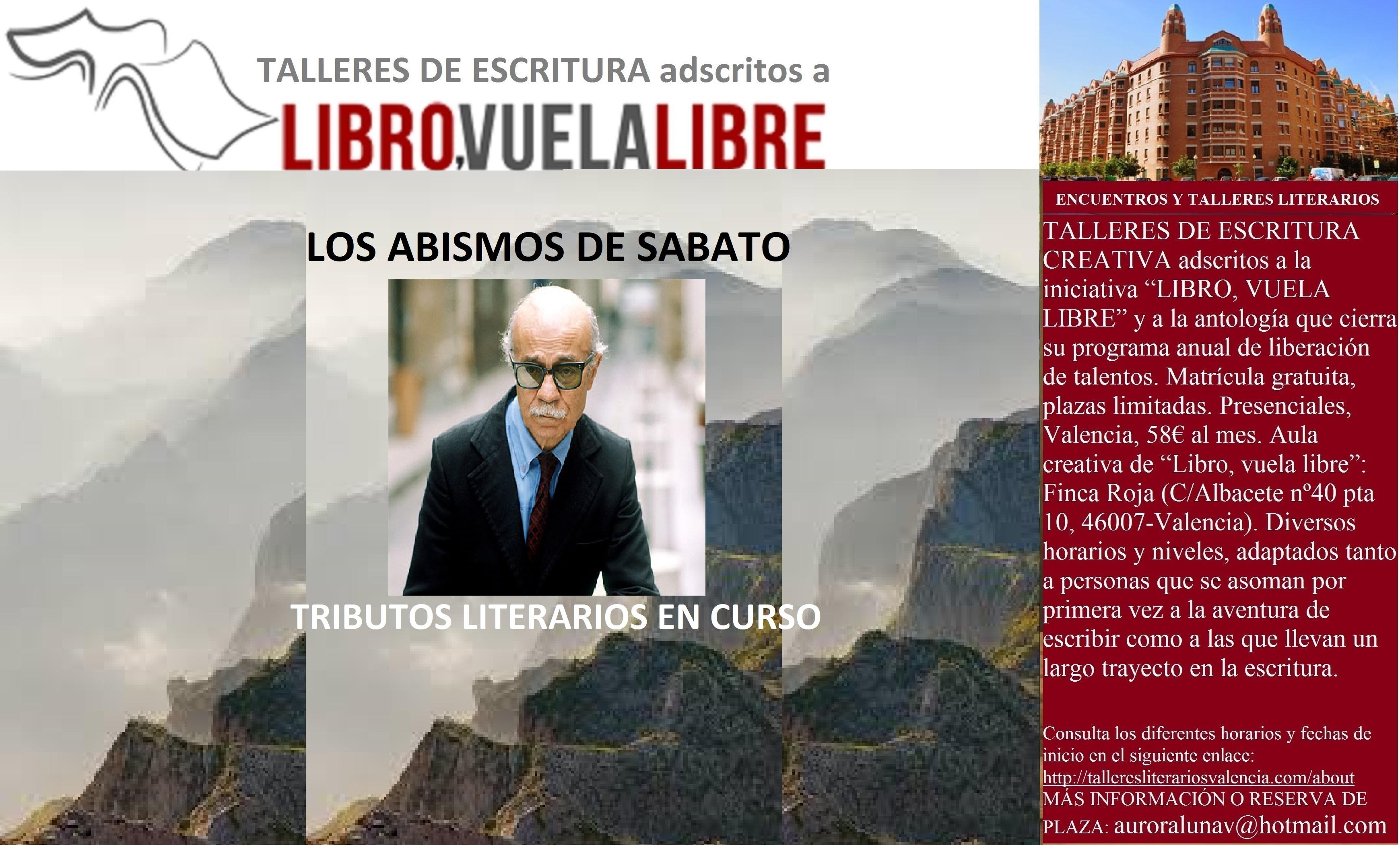 LOS ABISMOS DE SABATO. Taller de escritura, tributos literarios en curso