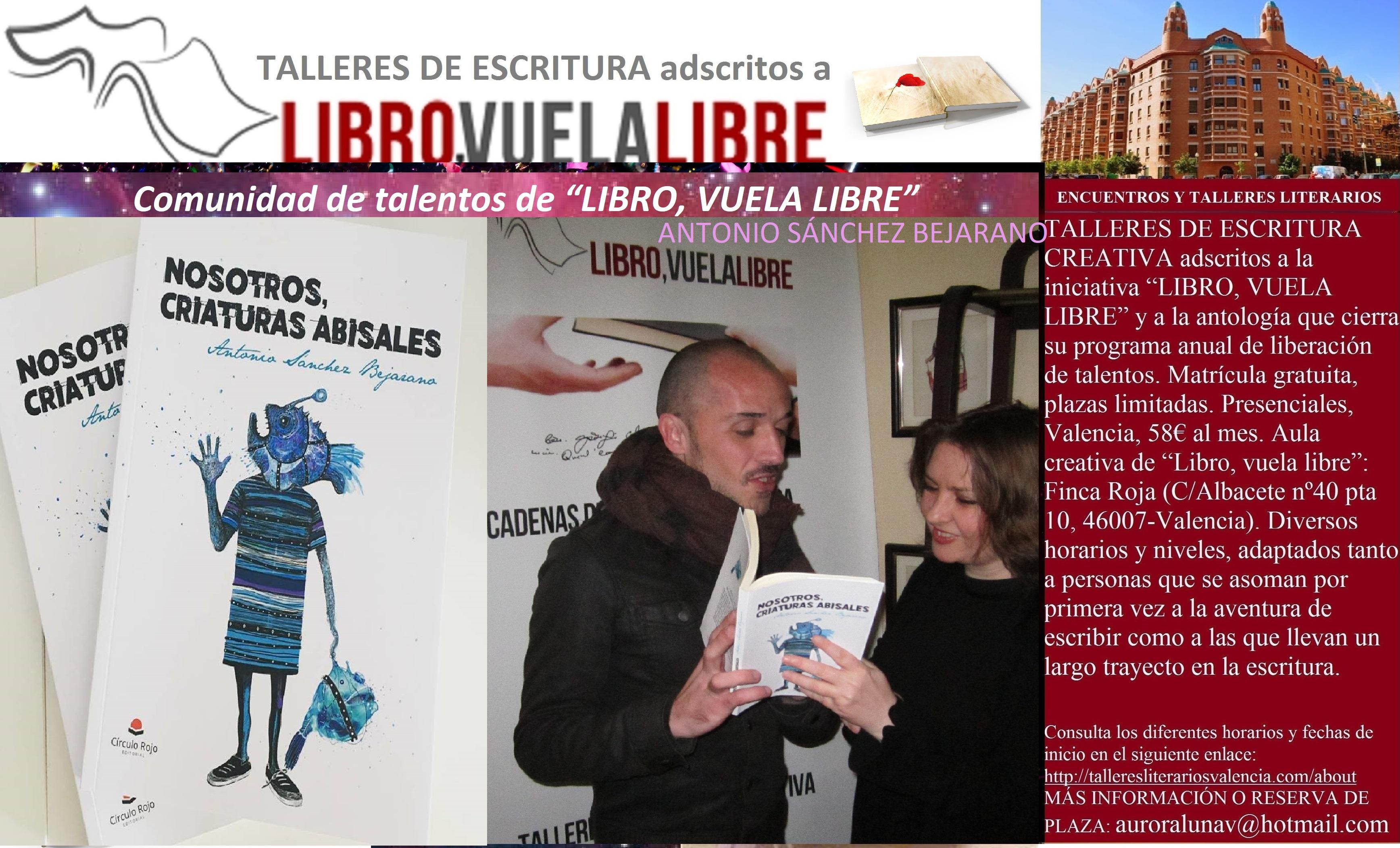 NOSOTROS, CRIATURAS ABISALES. Recomendaciones literarias de los cursos de escritura de LIBRO, VUELA LIBRE