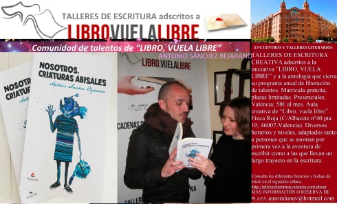 0 Cursos de escritura creativa en Valencia