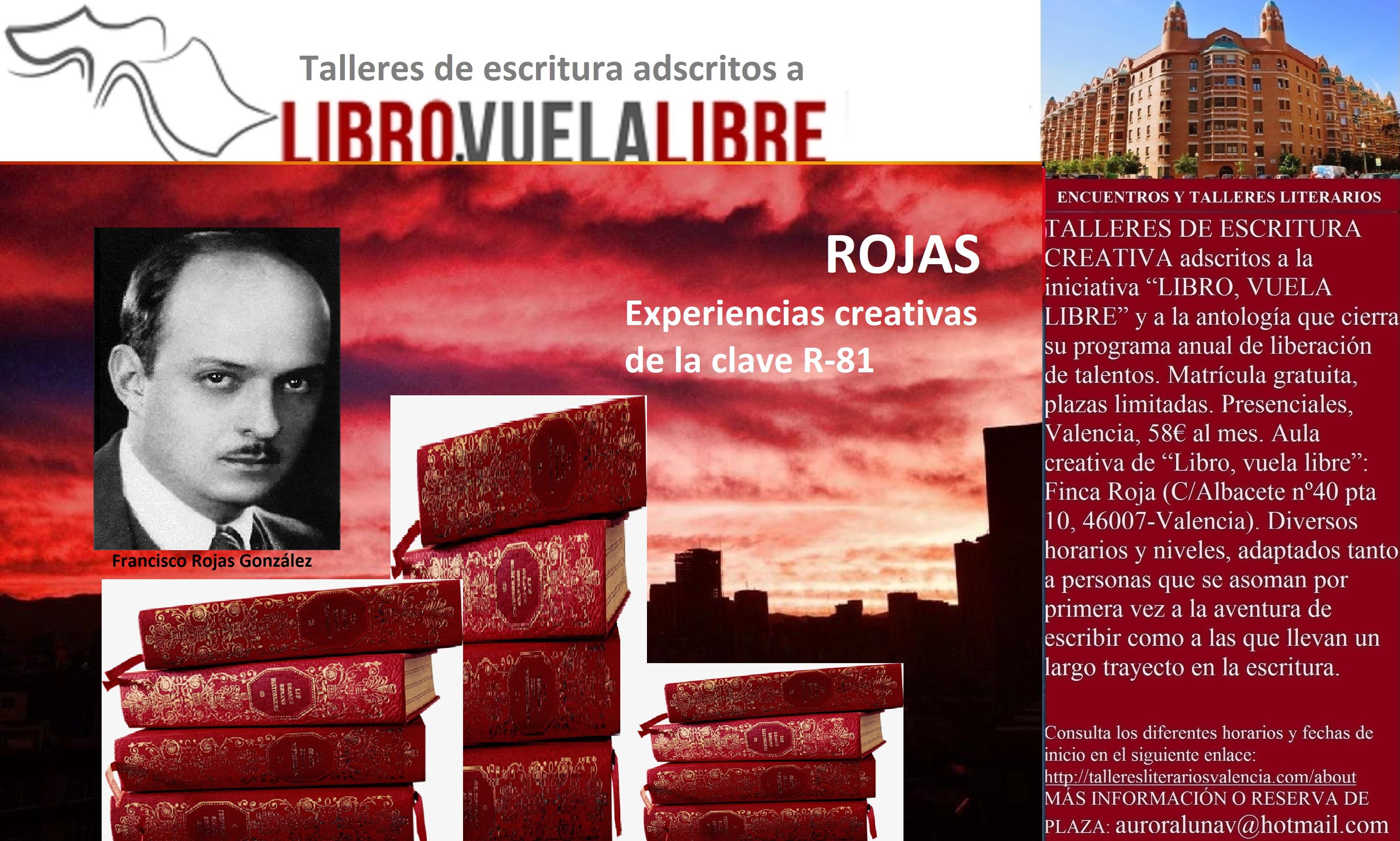 ROJAS. Talleres de escritura en Valencia, clave R-81