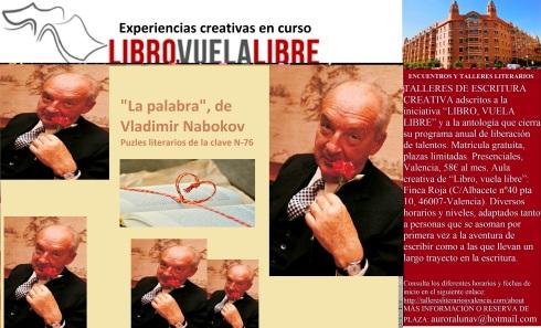 Clases de escritura en Valencia de LIBRO, VUELA LIBRE