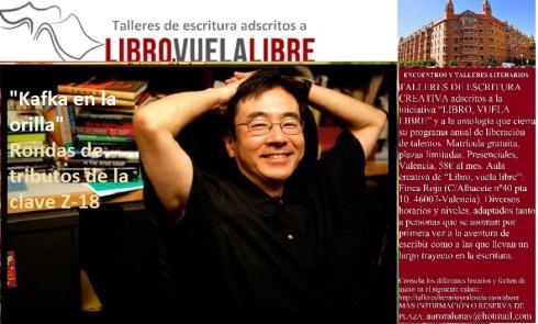 Actividades del club de lectura en Valencia de LIBRO, VUELA LIBRE