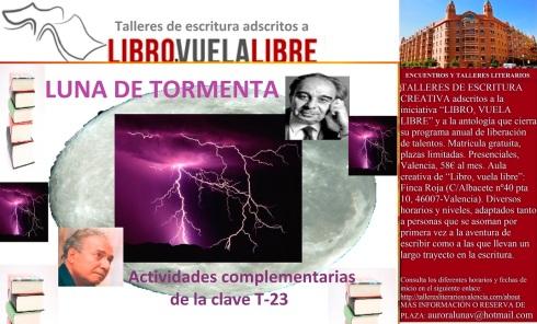 Actividades complementarias de los talleres literarios y cursos de escritura creativa en Valencia de LIBRO, VUELA LIBRE