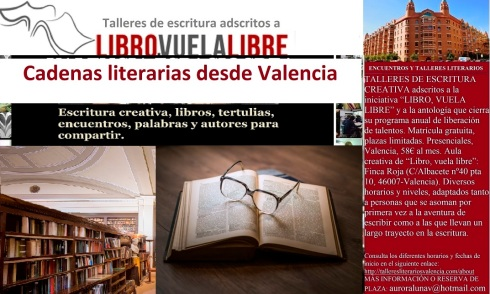Recomendaciones de lectura del las comunidades literarias y el taller de escritura de LIBRO, VUELA LIBRE