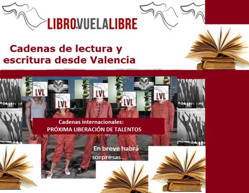 Liberación de talentos de los talleres de creación literaria en Valencia de LIBRO, VUELA LIBRE