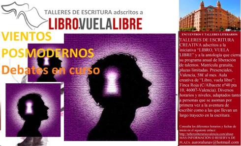 Debates y reflexiones en curso en el taller de escritura creativa de LIBRO, VUELA LIBRE en Valencia