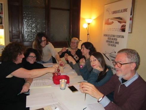Talleres literarios de libro, vuela libre en Valencia