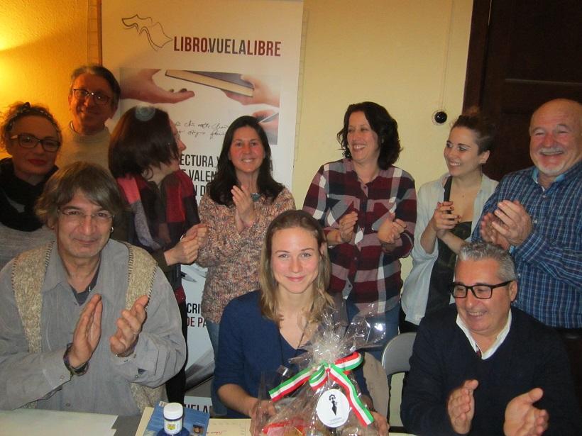 Sofía Ramos Antón ganadora de esta edición de los torneos literarios de LIBRO, VUELA LIBRE