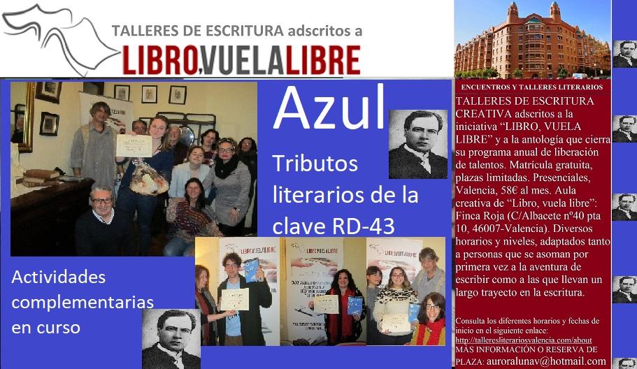 AZUL, tributos de la clave RD-43