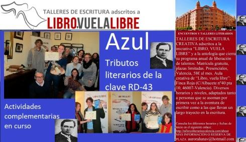 Tributos literarios de los talleres de escritura de LIBRO,VUELA LIBRE
