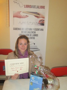 Sofía Ramos Antón, ganadora de los torneos literarios de LIBRO, VUELA LIBRE