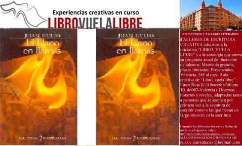 Taller de escritura en Valencia de LIBRO, VUELA LIBRE. Clave ES-10