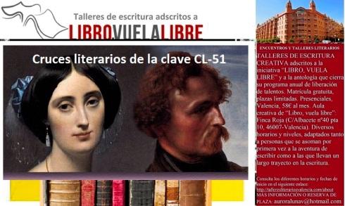 Vasos comunicantes en el taller de escritura en Valencia de LIBRO, VUELA LIBRE