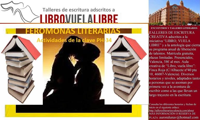 FEROMONAS LITERARIAS. Cursos de creación literaria, clave PH-34