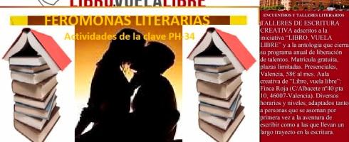 Actividades de escritura en los talleres y cursos de creación literaria de LIBRO, VUELA LIBRE
