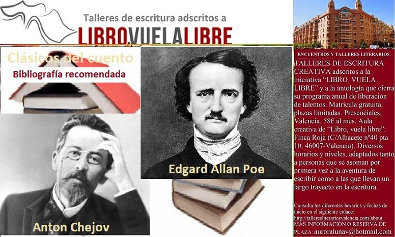 GRANDES CLÁSICOS DEL CUENTO. Taller de escritura en Valencia, bibliografía en curso
