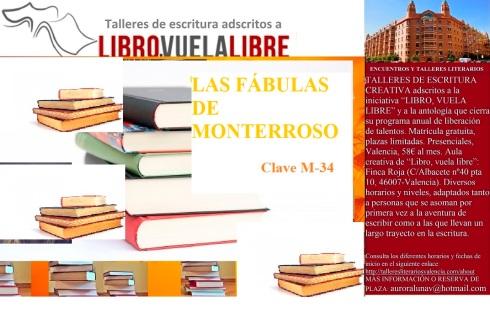 Las fábulas de Monterroso, taller de escritura en Valencia