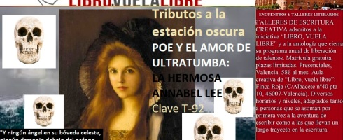 Cursos y talleres de escritura creativa de Libro vuela libre en Valencia, clave T-92