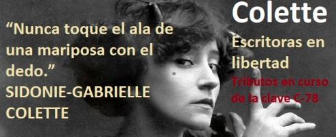 Colette en los tributos en curso de nuestros talleres literarios en Valencia