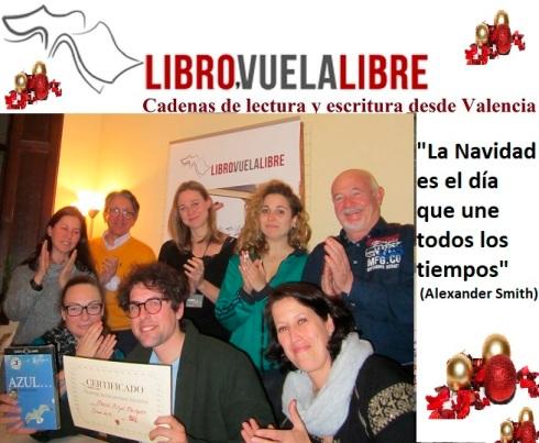 Juegos de Navidad en los cursos de escritura en Valencia de Libro vuela libre