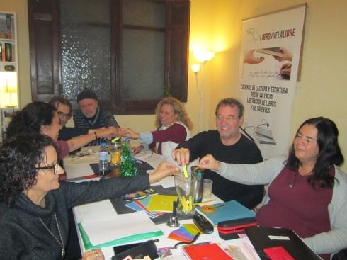 Participantes en los torneos literarios de Libro vuela libre