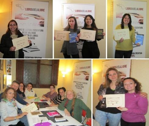Finalistas de los torneos de los talleres de escritura creativa de Libro vuela libre