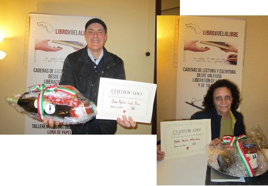 Ganadores de los torneos de Libro vuela libre