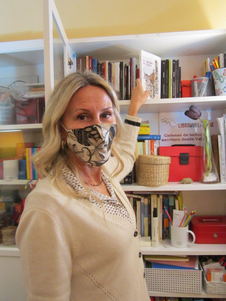 Recomendaciones en curso del club de lectura en Valencia de los talleres literarios de Libro vuela libre: El retrato de Clara, de María Eguía