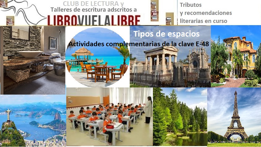 Tipos de espacios en los cursos de escritura online y talleres presenciales en Valencia de LIBRO VUELA LIBRE